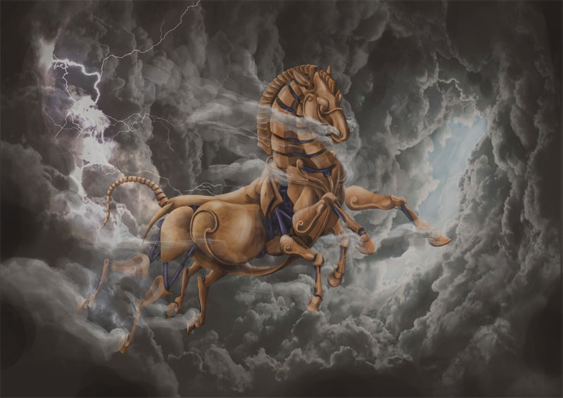 Sleipnir El Caballo de Odin